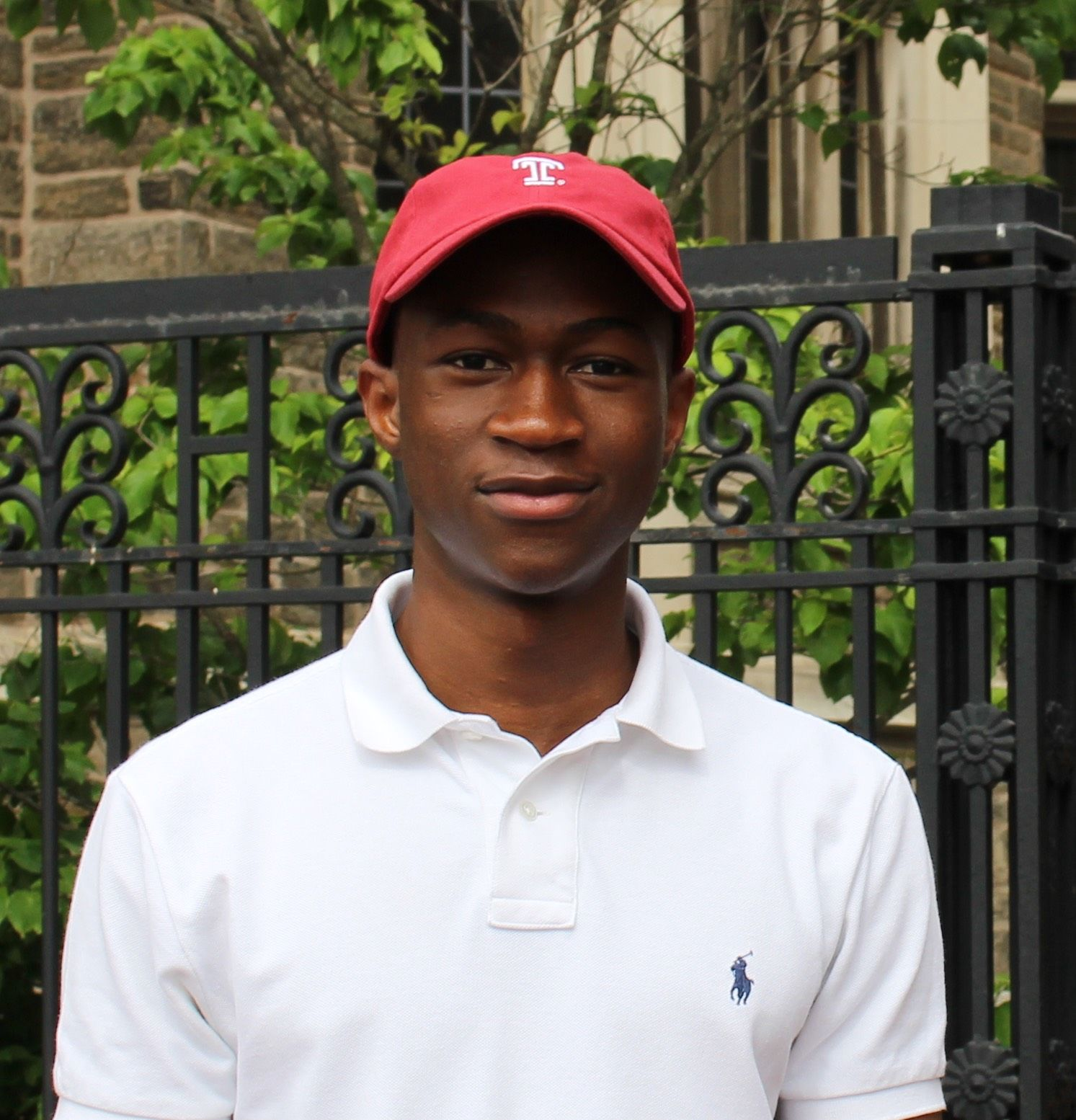 Mamadou Dembele, a student in the Center's Intensive English Language Program from Senegal.